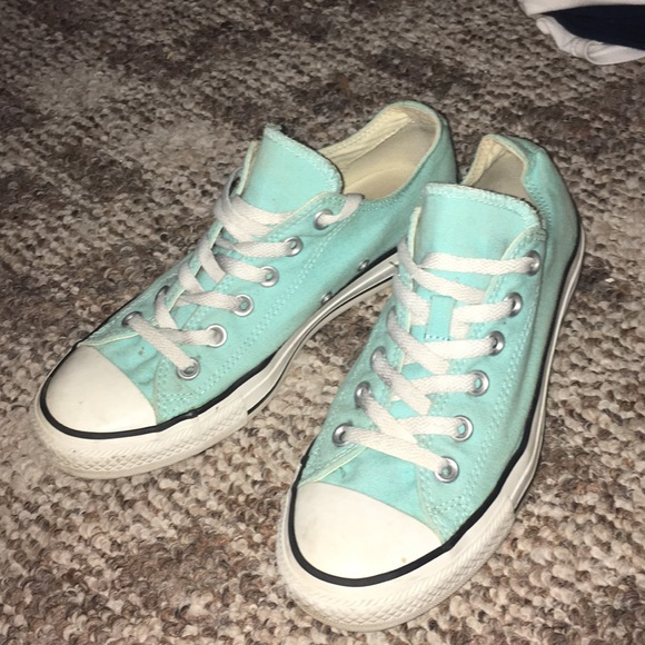 timeless design 4f90f 2a76a Converse Shoes - Sz 9 Tiffany Blue CT Allstar Converse Lace Up